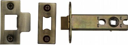 M Marcus York Security YKAL4-AT Architectural Mortice Latch 102mm Antique Brass